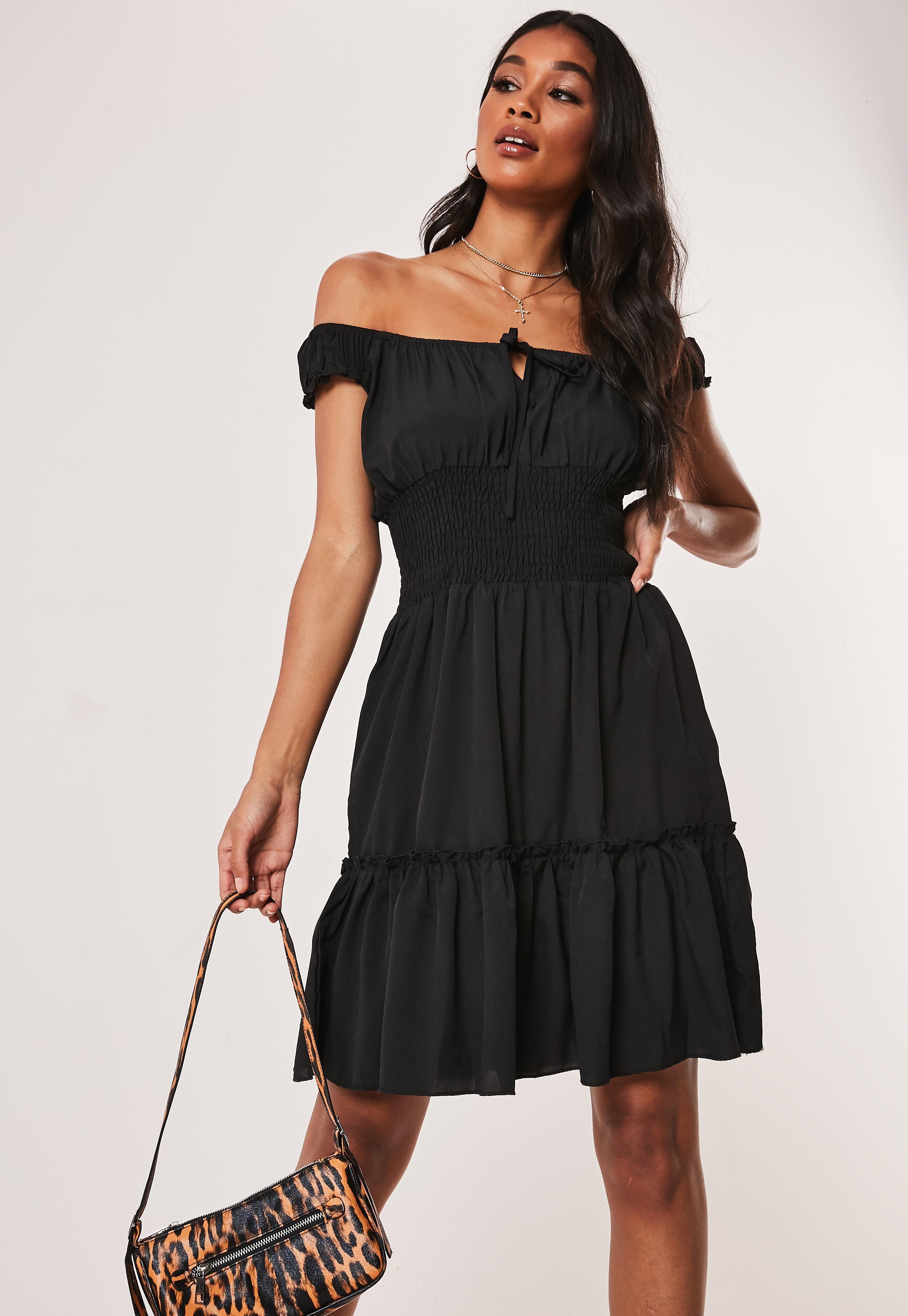 6ffc348e7be Off the Shoulder Dresses - Bardot Dresses Online   Missguided