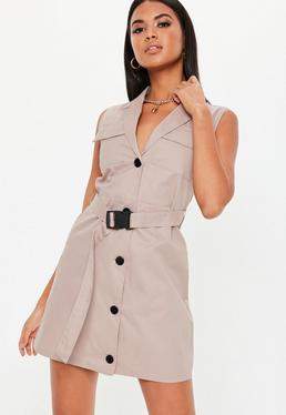 bd203f63ab4ee Robe blazer | Robe tailleur femme - Missguided