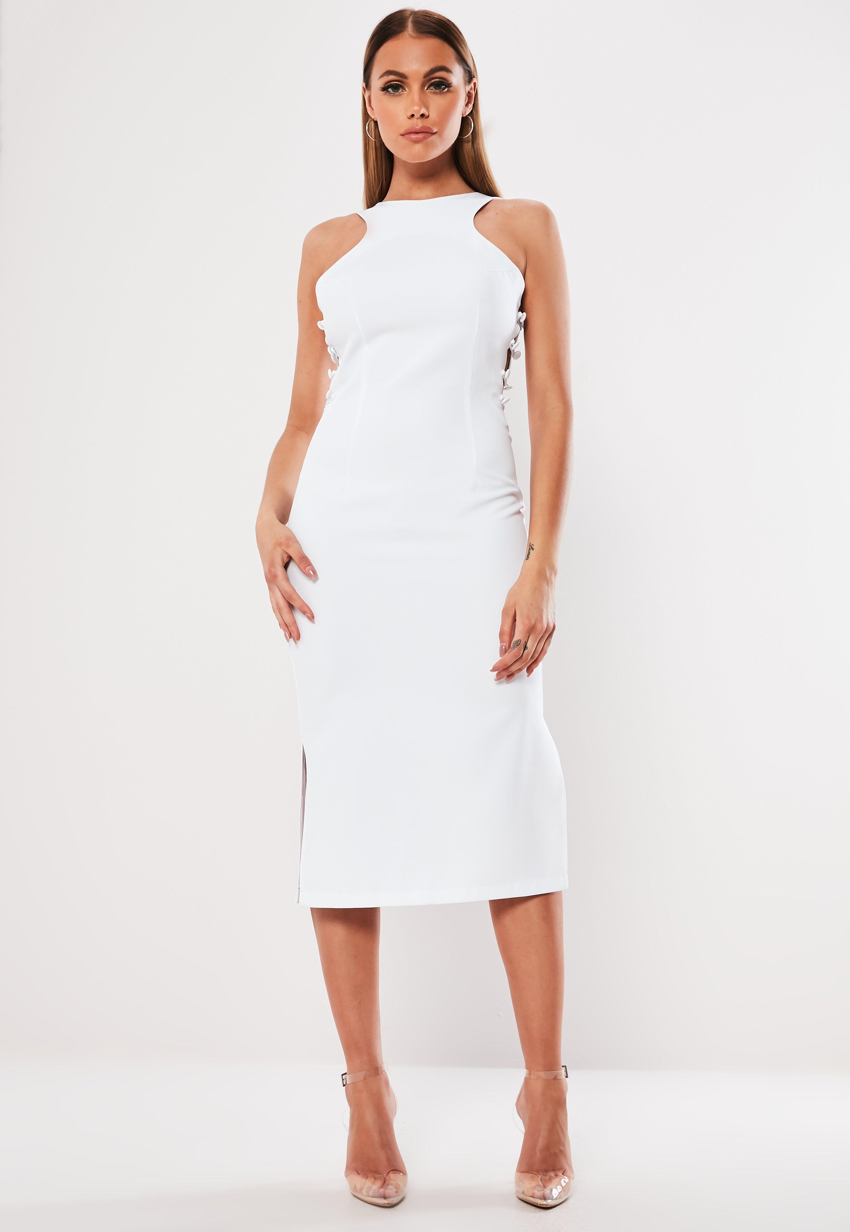 2d880b18dfb White Midi Dresses
