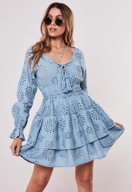 0943598bc8 Skater Dresses | Fit & Flare Dresses Online- Missguided Ireland