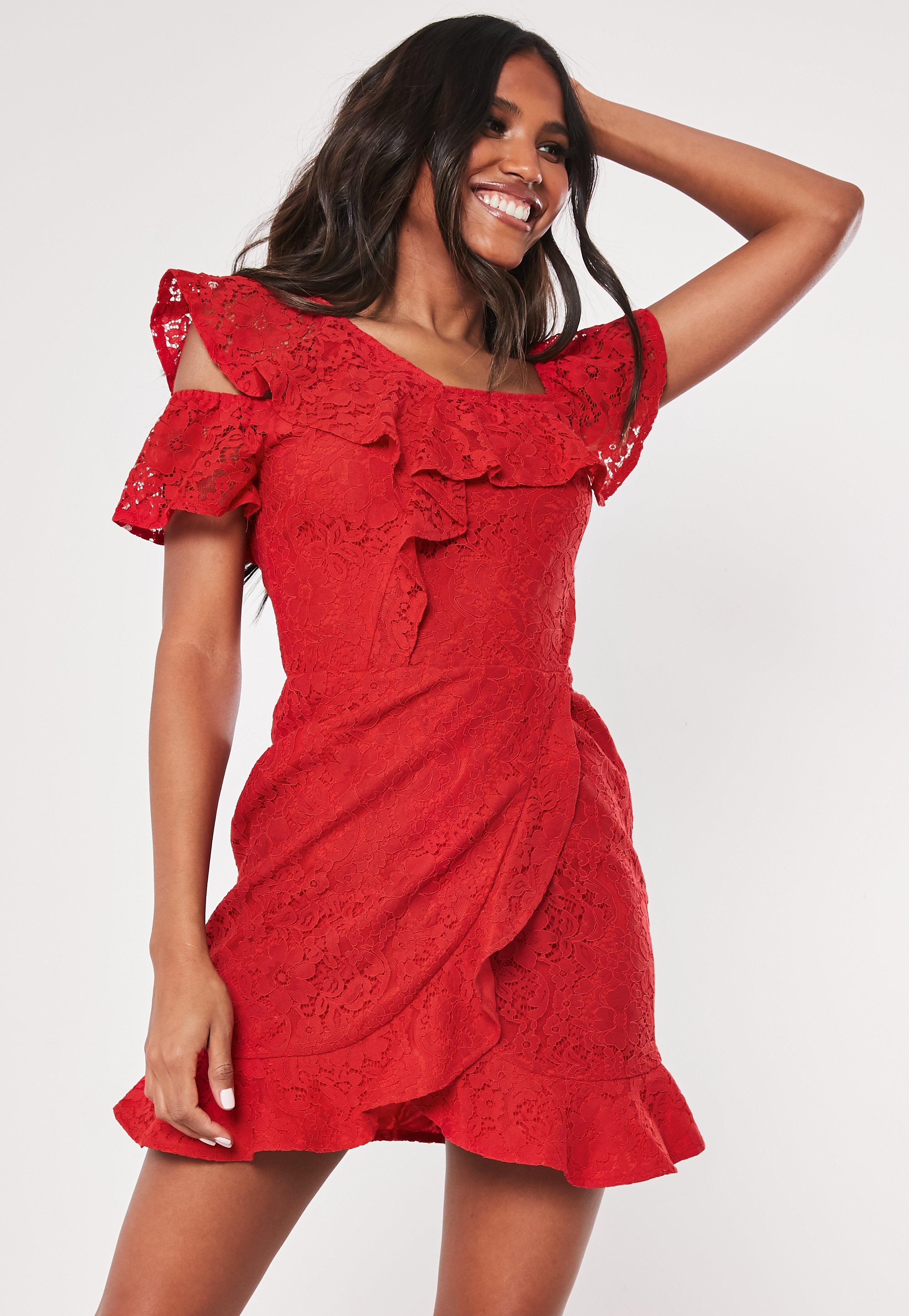 52fdab615e Sukienki Bardotki - Sukienki z odkrytymi Ramionami - Missguided