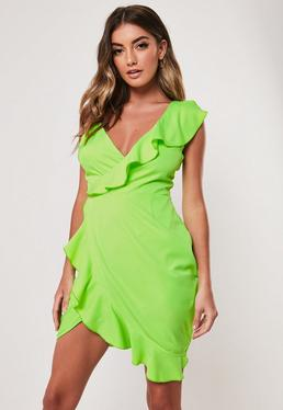 24bba65dbc22 Wrap Dresses | Wrap dress & Tie Waist Dresses - Missguided