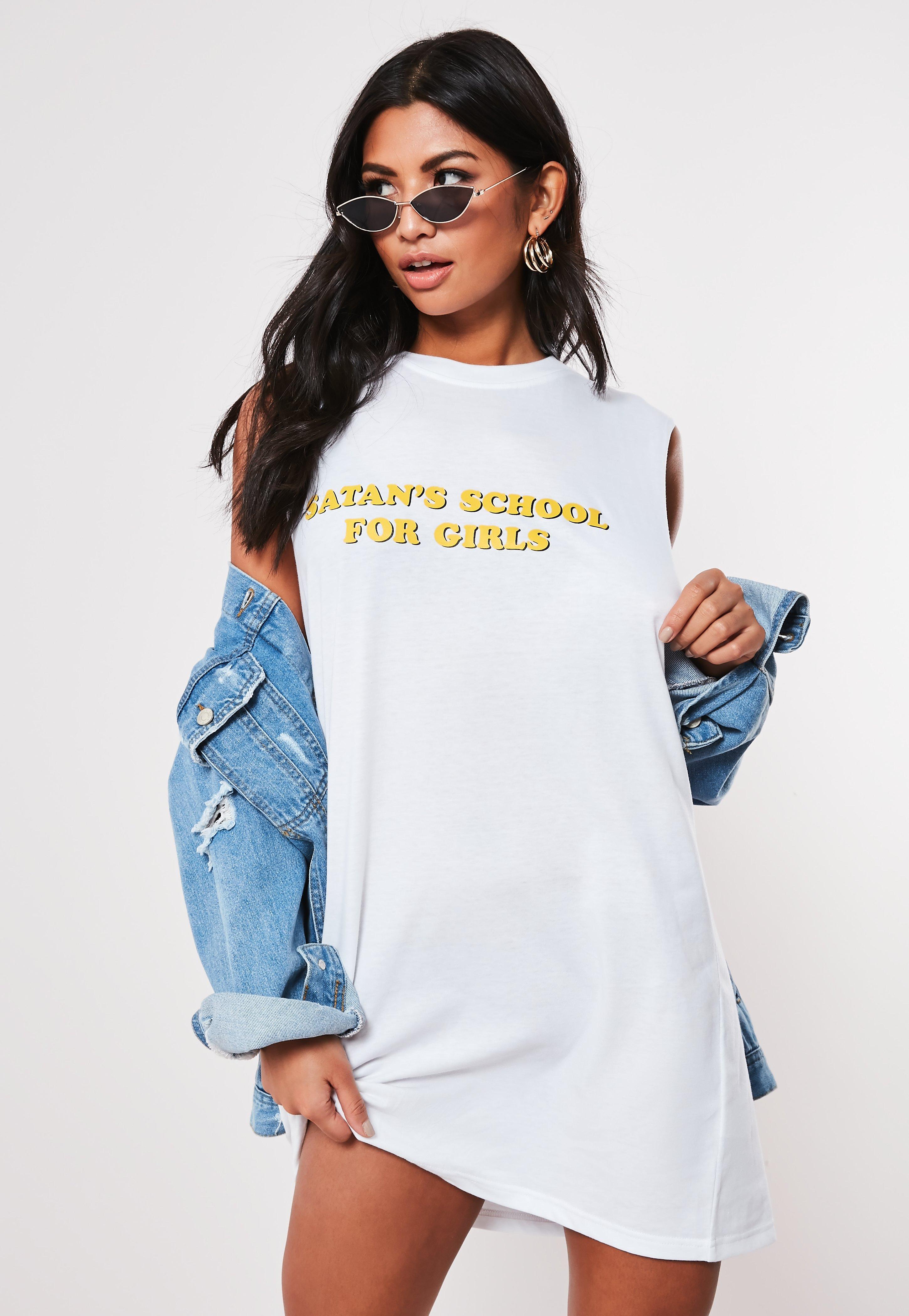 83e5489b21 T-Shirt Dresses