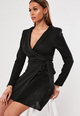 a22a1a14f0cb Blazer Dresses | Shop Tuxedo Dresses - Missguided