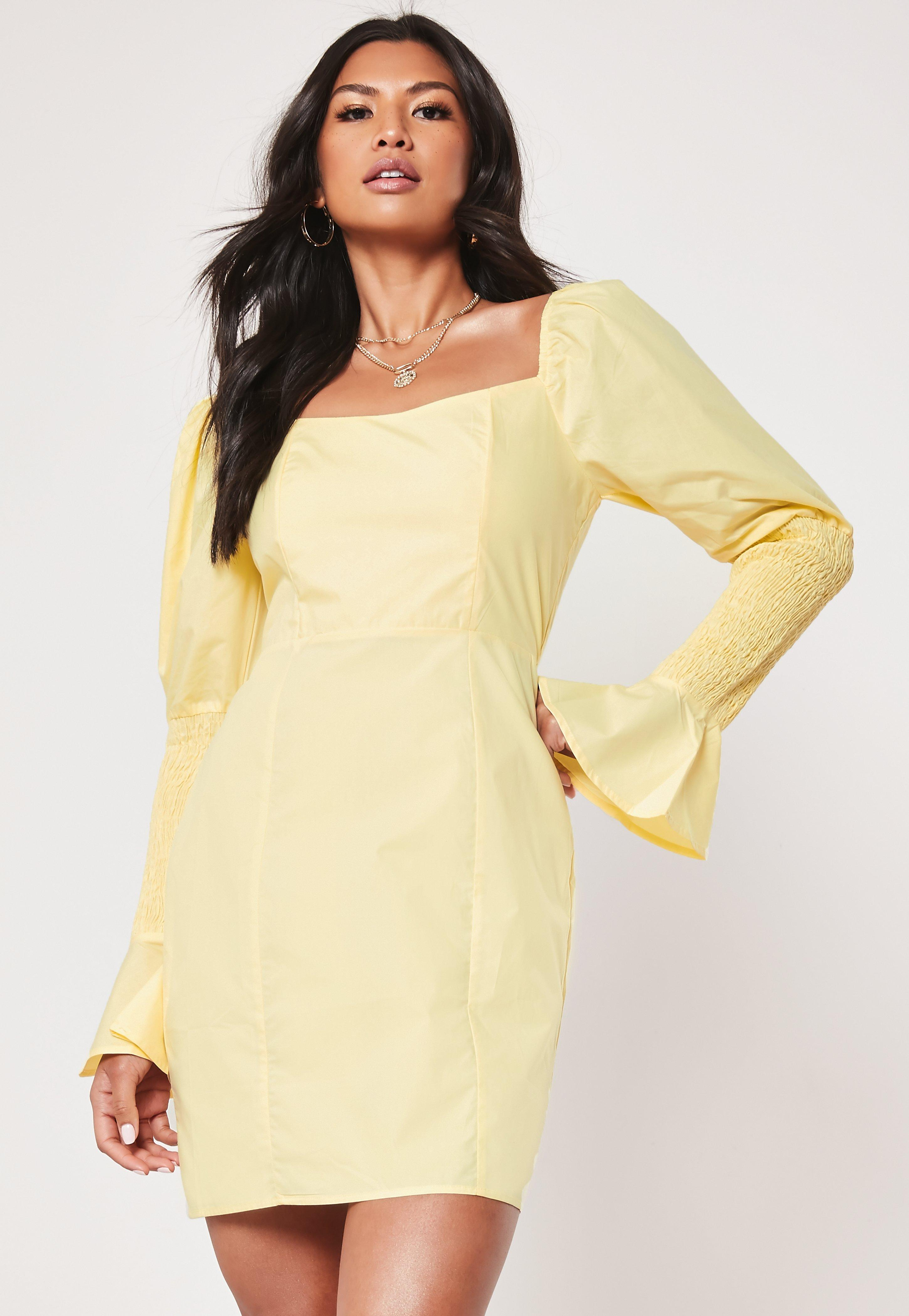 1dafd83804fd0 Long Sleeve Dresses | Long Sleeve Maxi Dresses - Missguided
