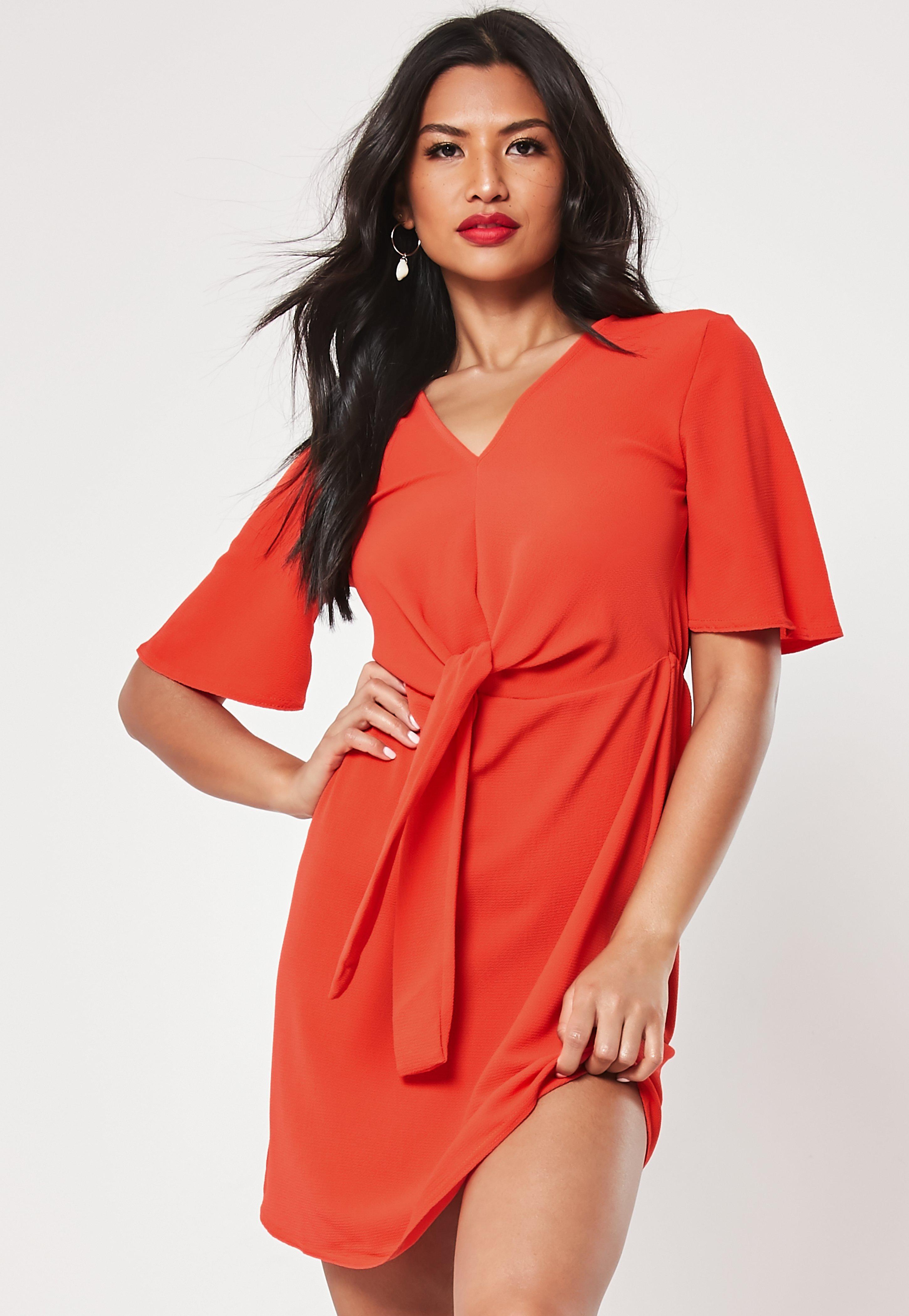 a291de74a4 Red Dresses