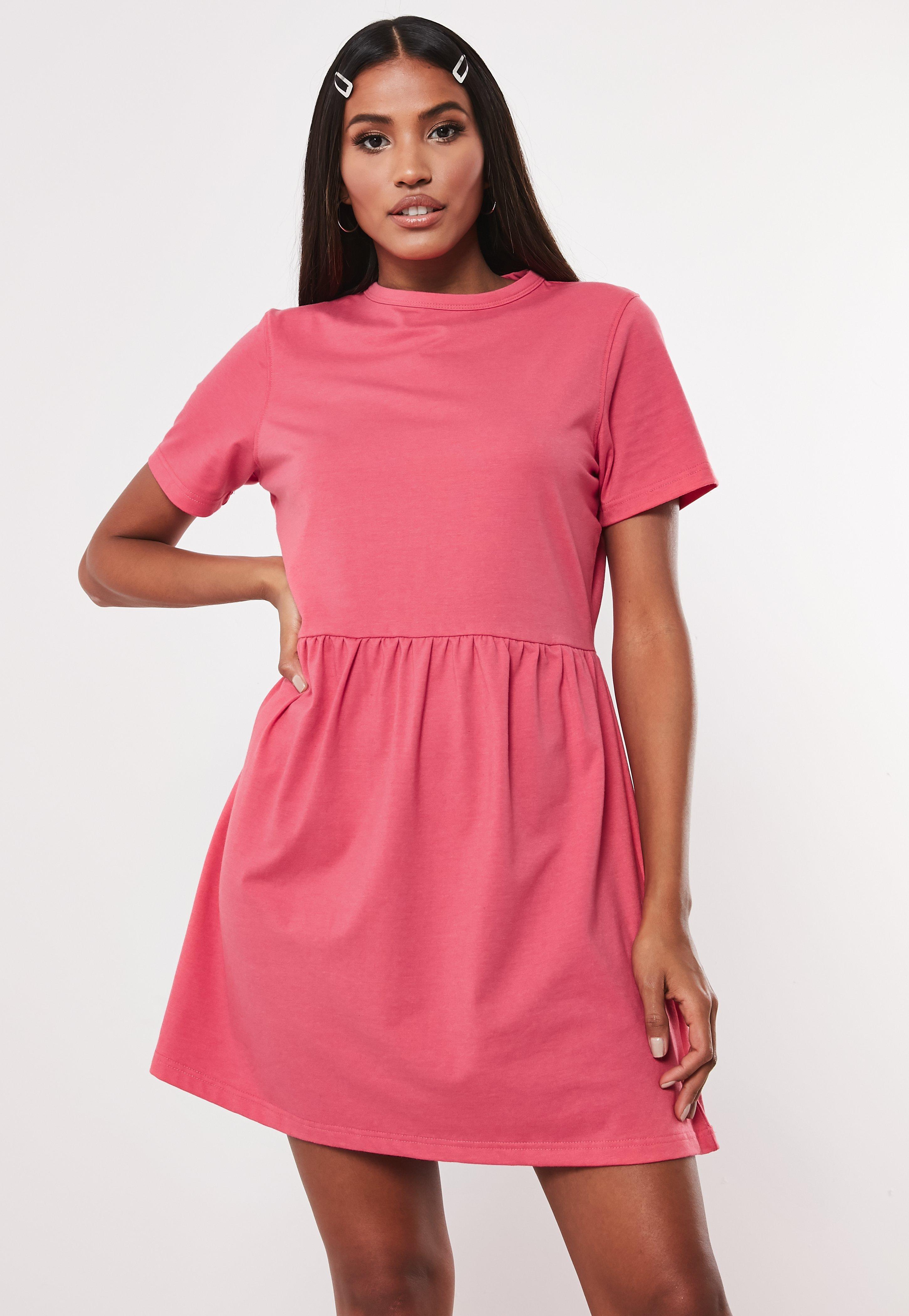73f14a2b69 Smock Dresses & Chiffon Swing Smock Dress - Missguided