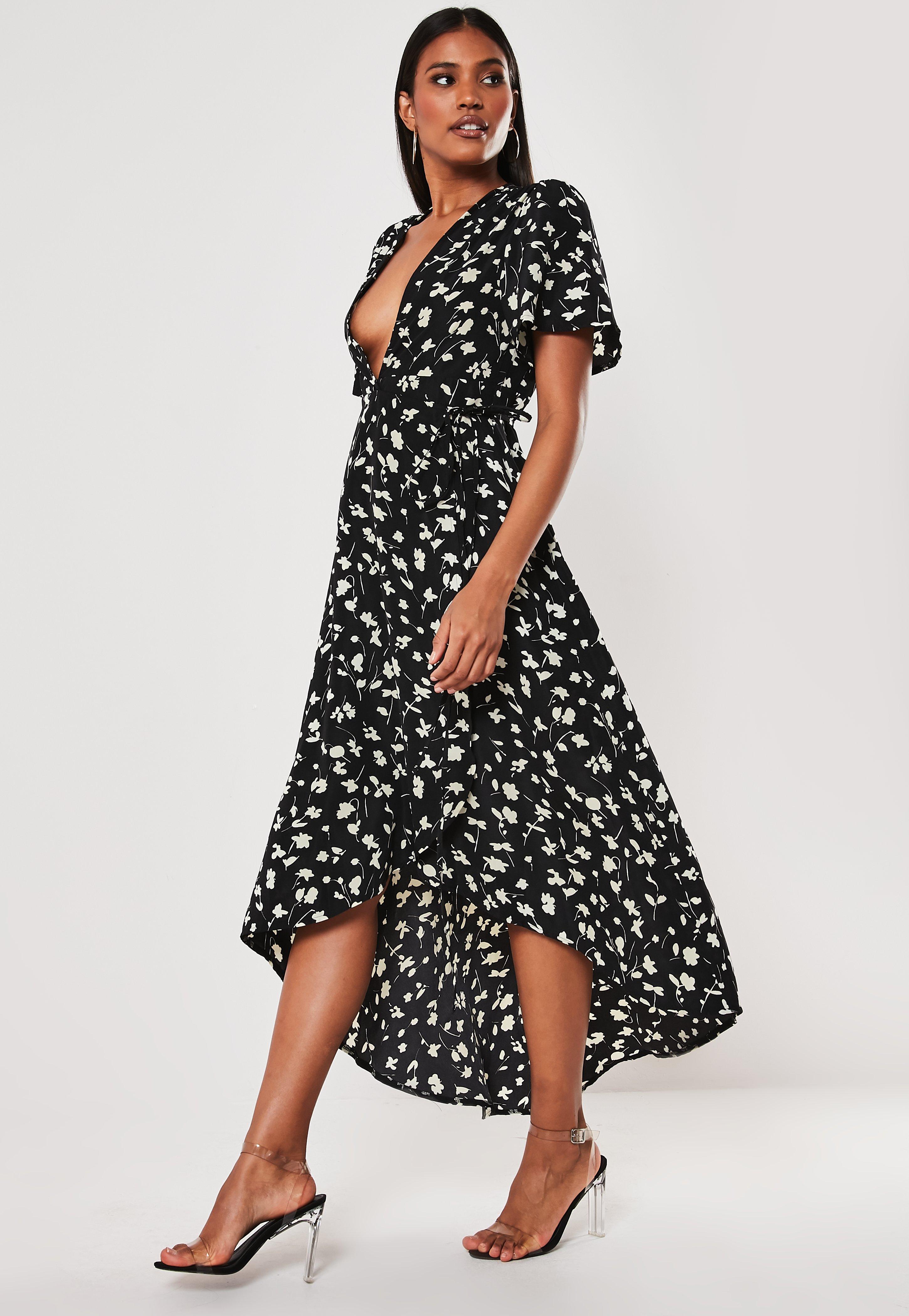 c6dd78a67b1c Midi Dresses UK | Knee Length Dresses | Missguided