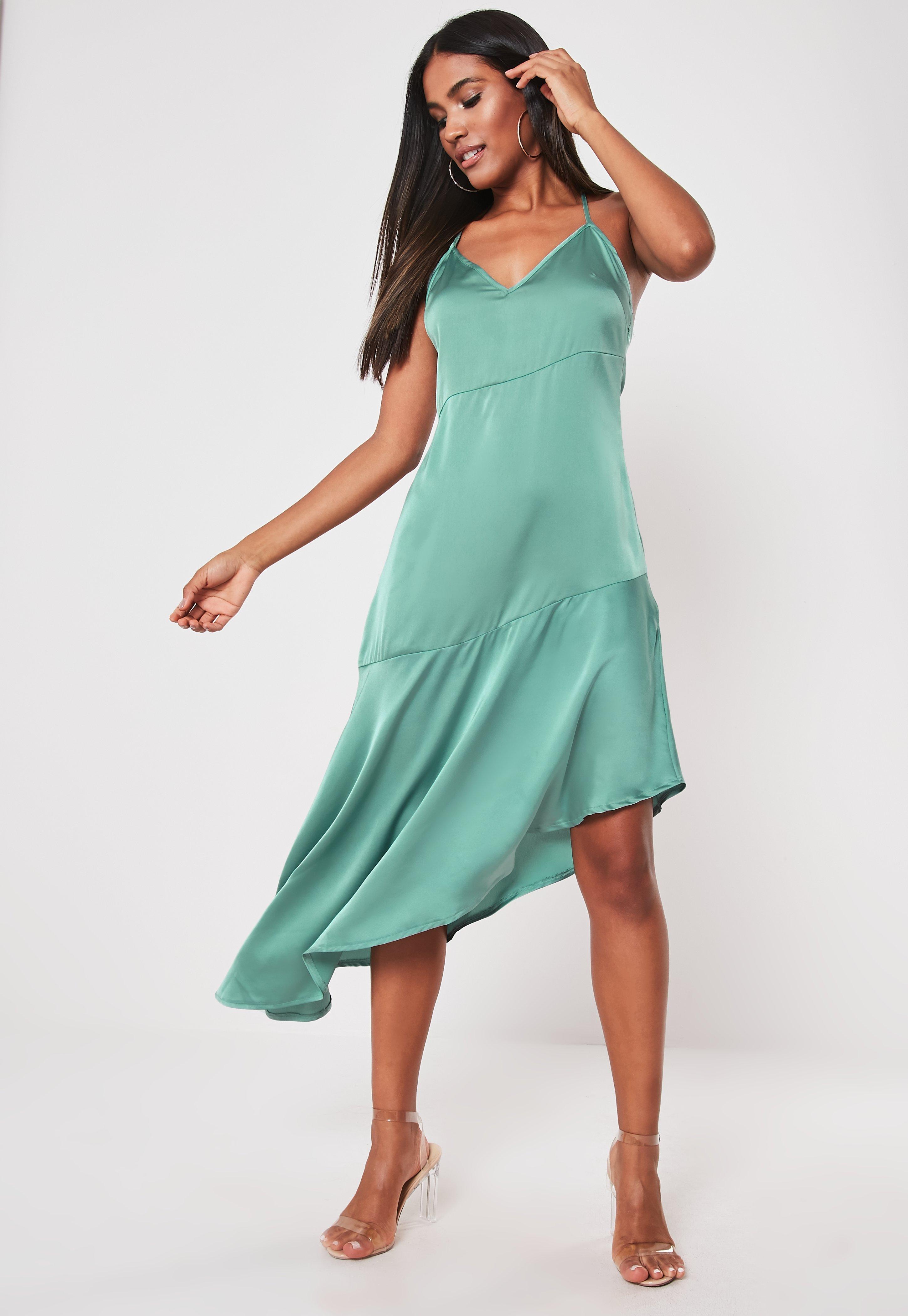 151646994aa1 Asymmetric Dresses | Shop Drape Dresses - Missguided