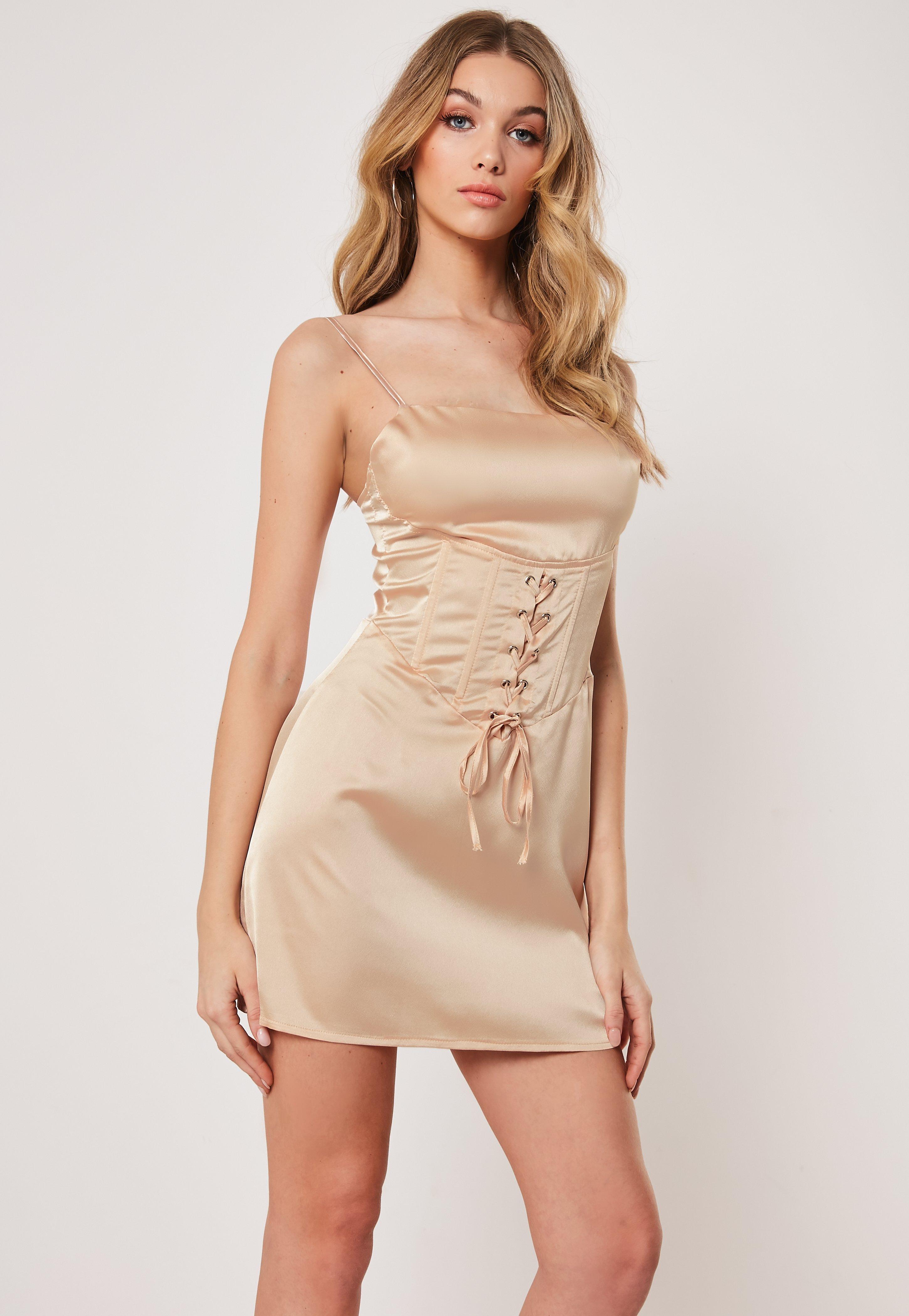 5eb979f0f Satin Dresses | Shop Silky Dresses - Missguided