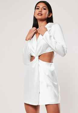 5dfa769e5c Satin Dresses | Shop Silky Dresses - Missguided