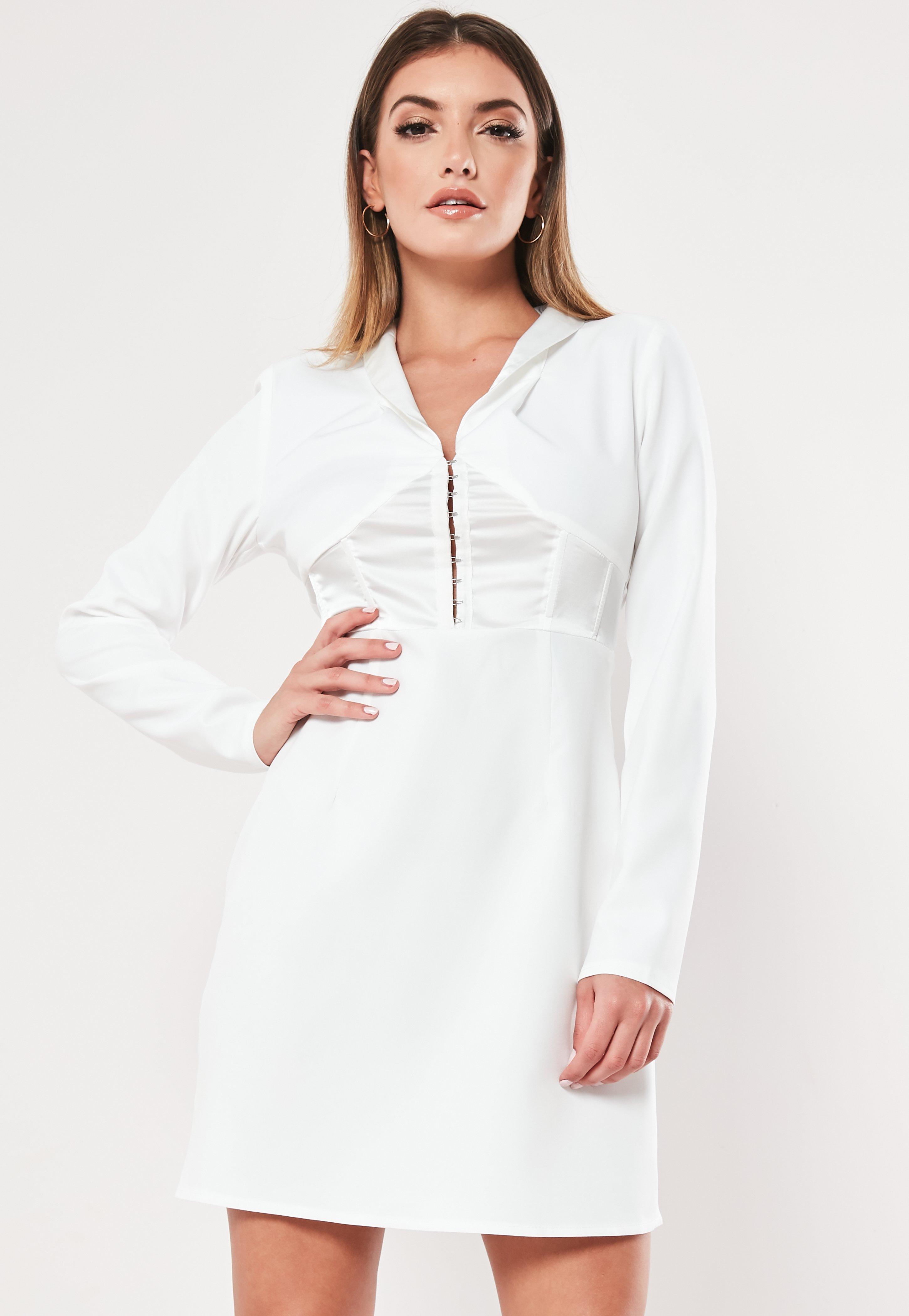 2dda71099d015 White Dresses   Women's White Dresses Online - Missguided