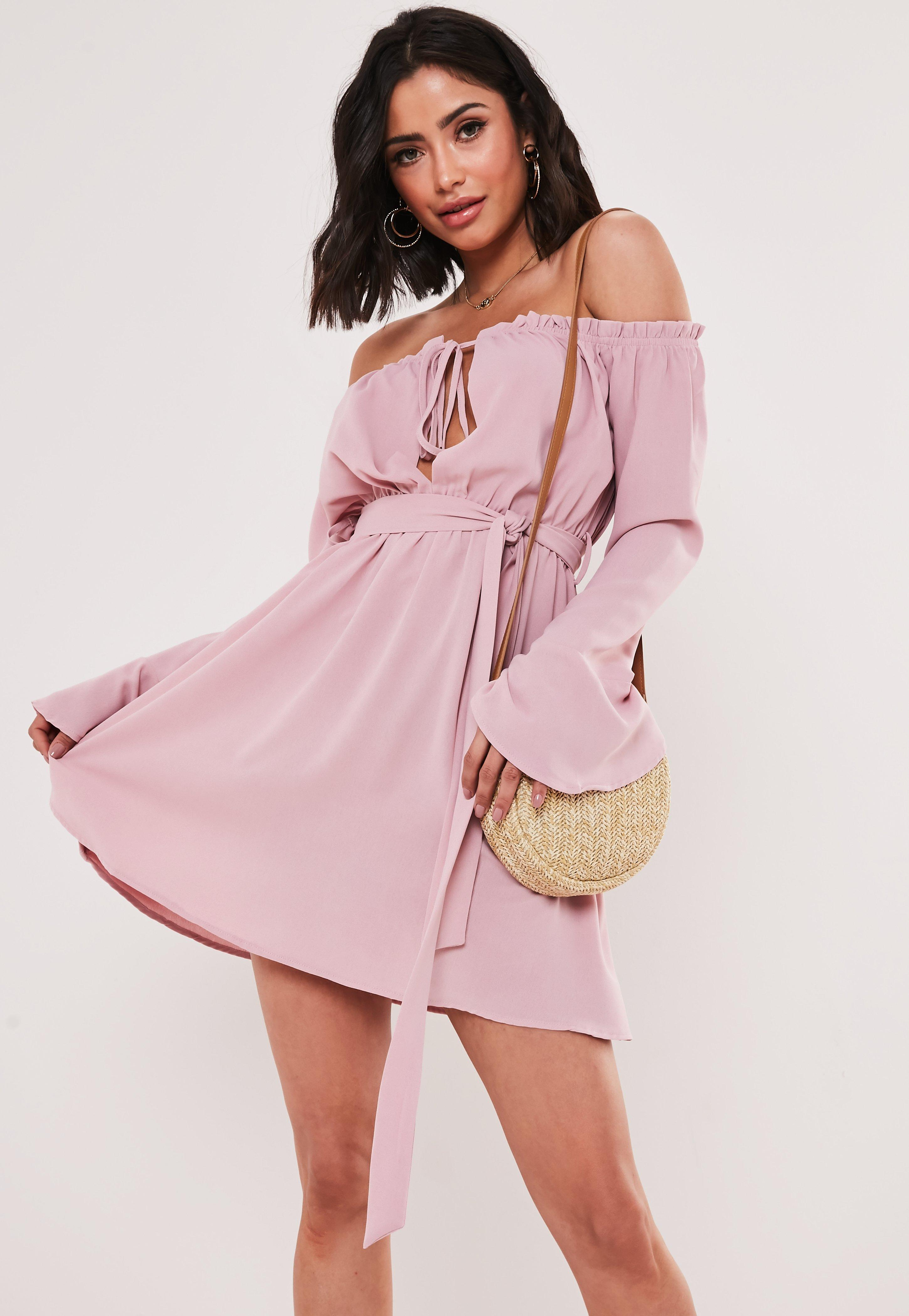5756aec4262f0 Flare Sleeve Tops & Bell Sleeve Dresses - Missguided