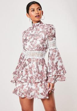 d519cea536 Long Sleeve Dresses | Long Sleeve Maxi Dresses - Missguided