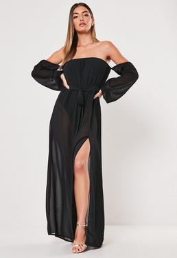 6288e77b3480 Maxi Dresses | Long Dresses with Slits Online - Missguided