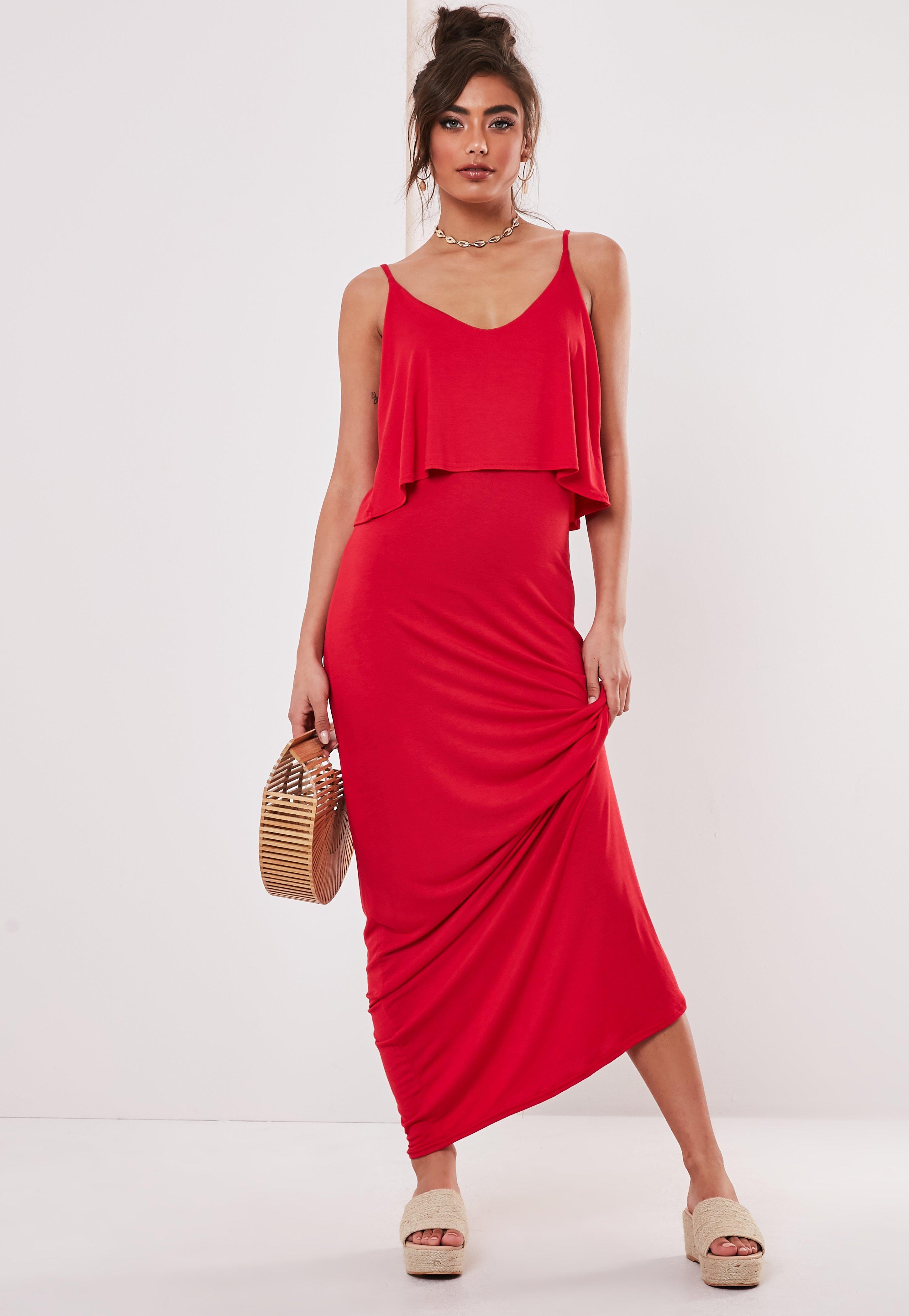 1ba7097e4b Red Dresses