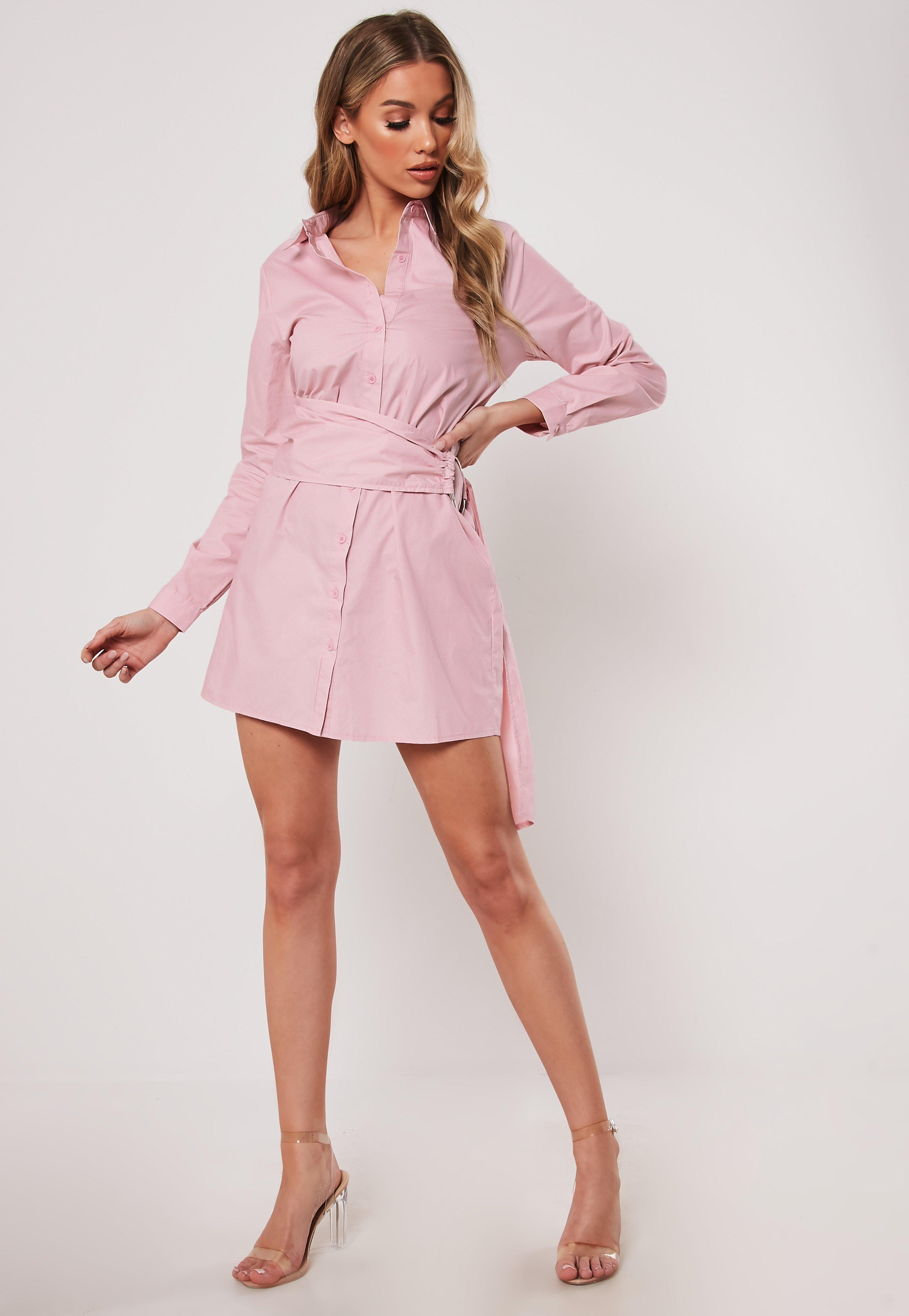 9dc55c5d624 Shirt Dresses | Long & Short Sleeve Shirt Dresses - Missguided