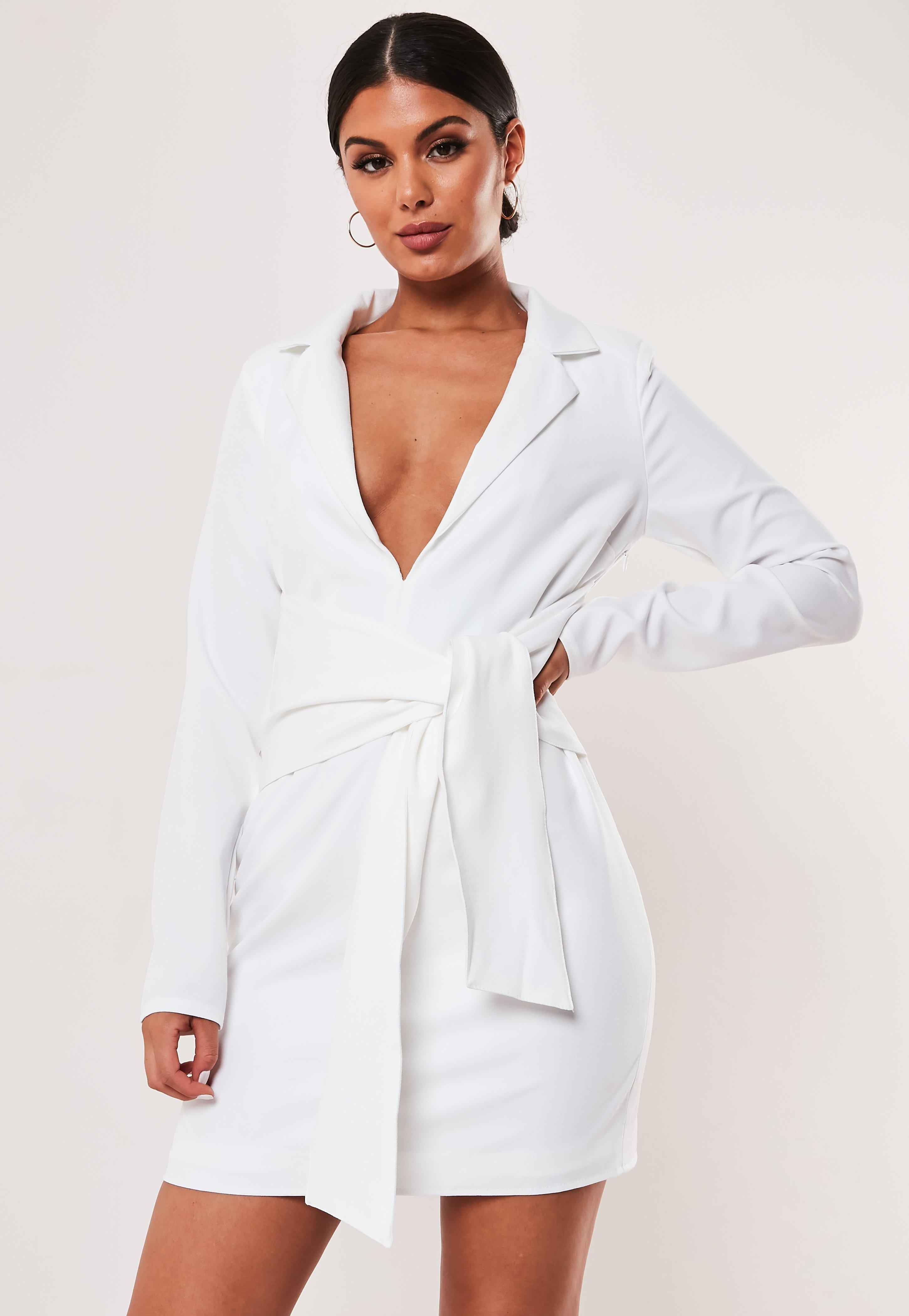 5d50535ed5f Blazer Dresses | Shop Tuxedo Dresses - Missguided