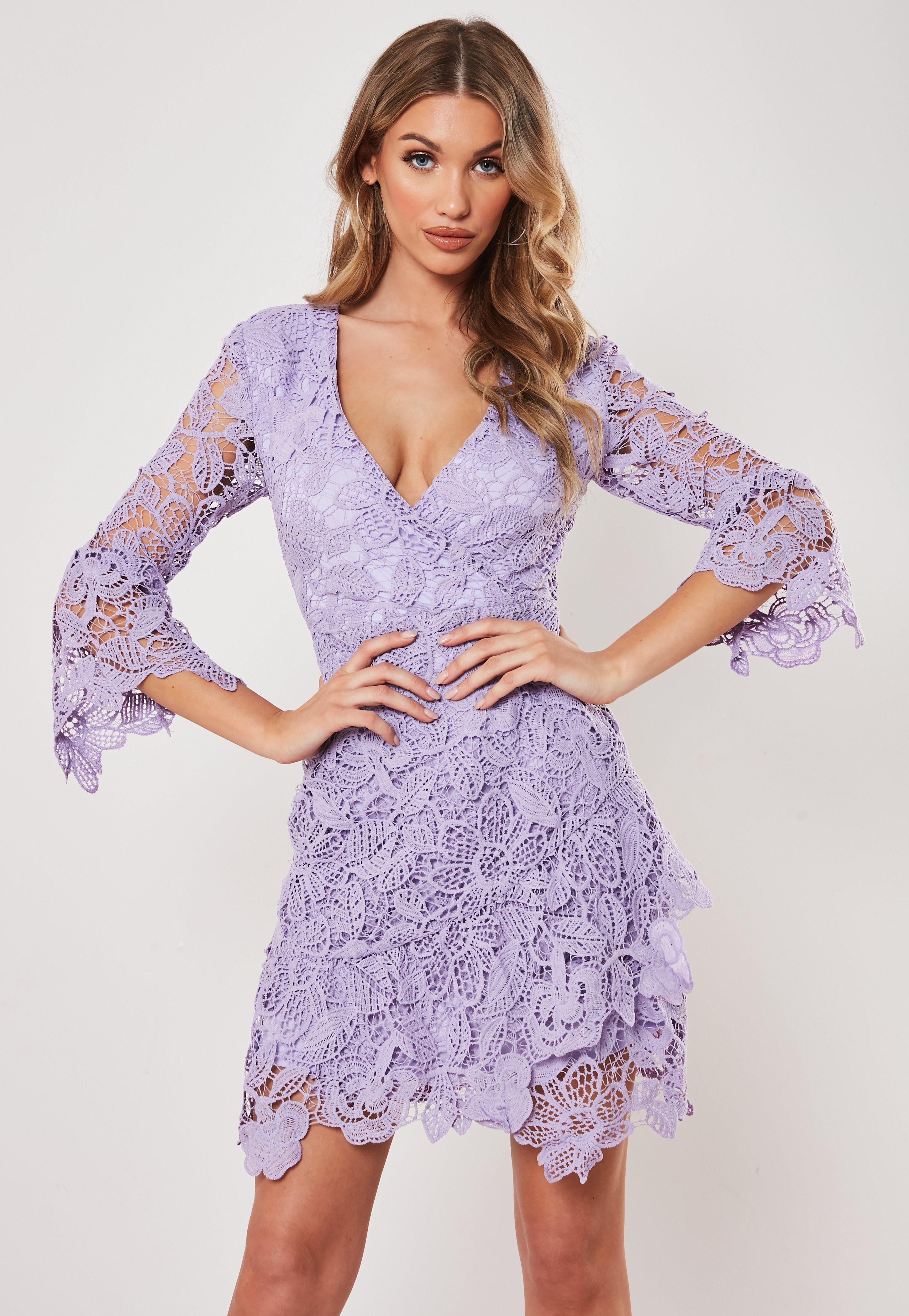 3daf0947a10f2a Purple Dresses | Mauve & Lilac Dresses - Missguided