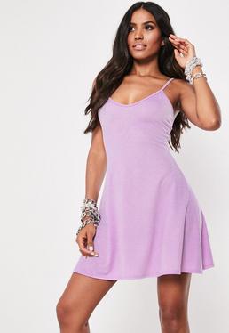 2c0e2de30e4d Lilac Cami Skater Dress