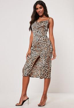 405cff8551e38 Midi Dresses   Women's Knee Length Dresses - Missguided