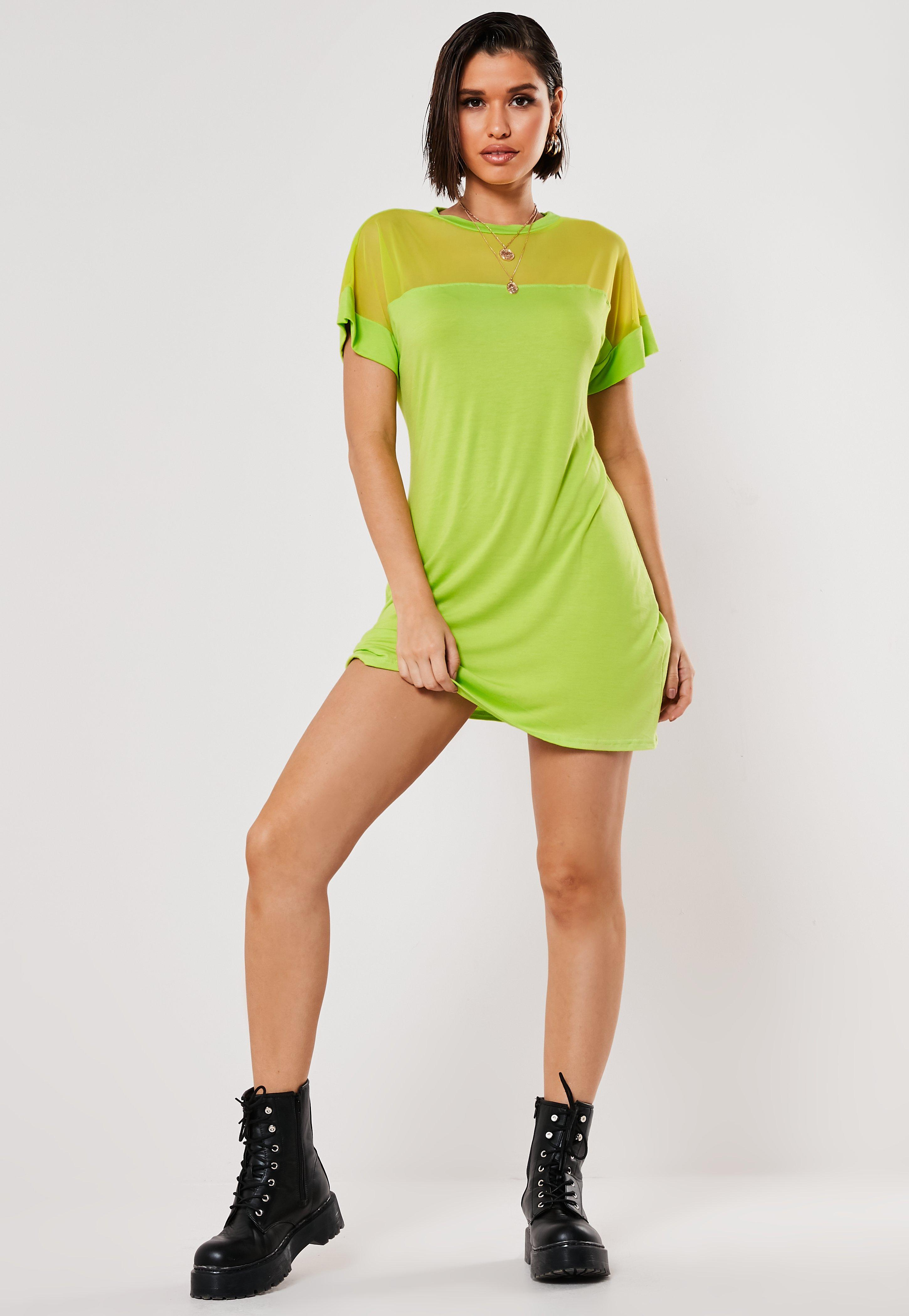 56e96881be7653 T-Shirt Dresses   Printed & Slogan Dresses - Missguided