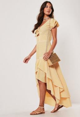 004a531737ab Yellow Dresses - Mustard & Chartreuse Dresses | Missguided