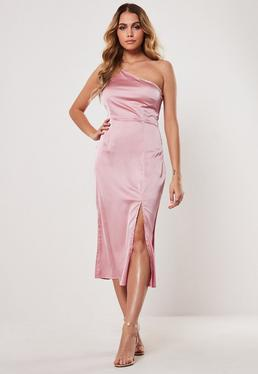 960b3aed3375 Satin Dress - Silky Dresses Online | Missguided