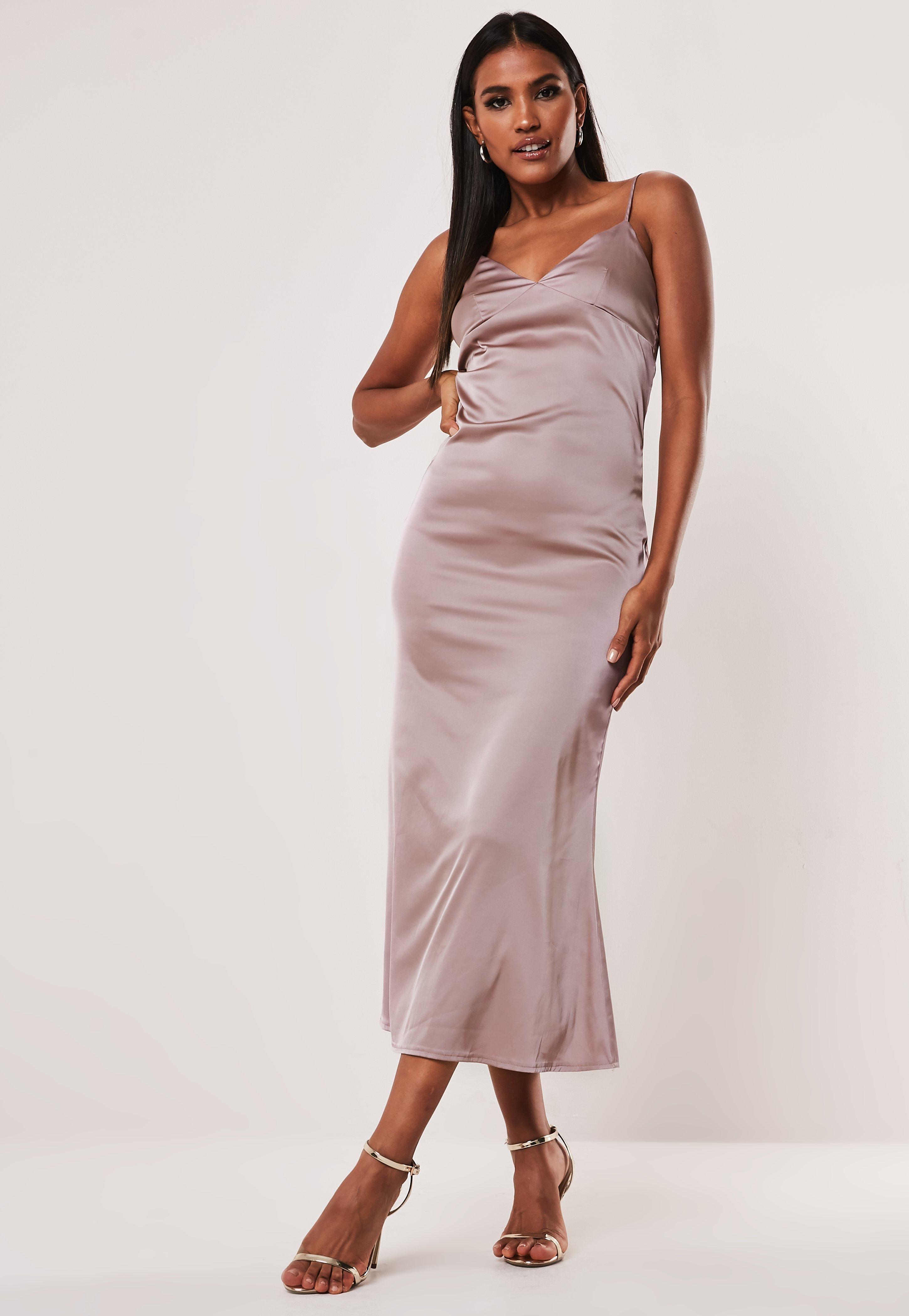 30f581b7ed21 Satin Dresses | Shop Silky Dresses Online - Missguided