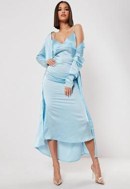80e9bc0aca4e Midi Dresses | Knee Length Dresses - Missguided