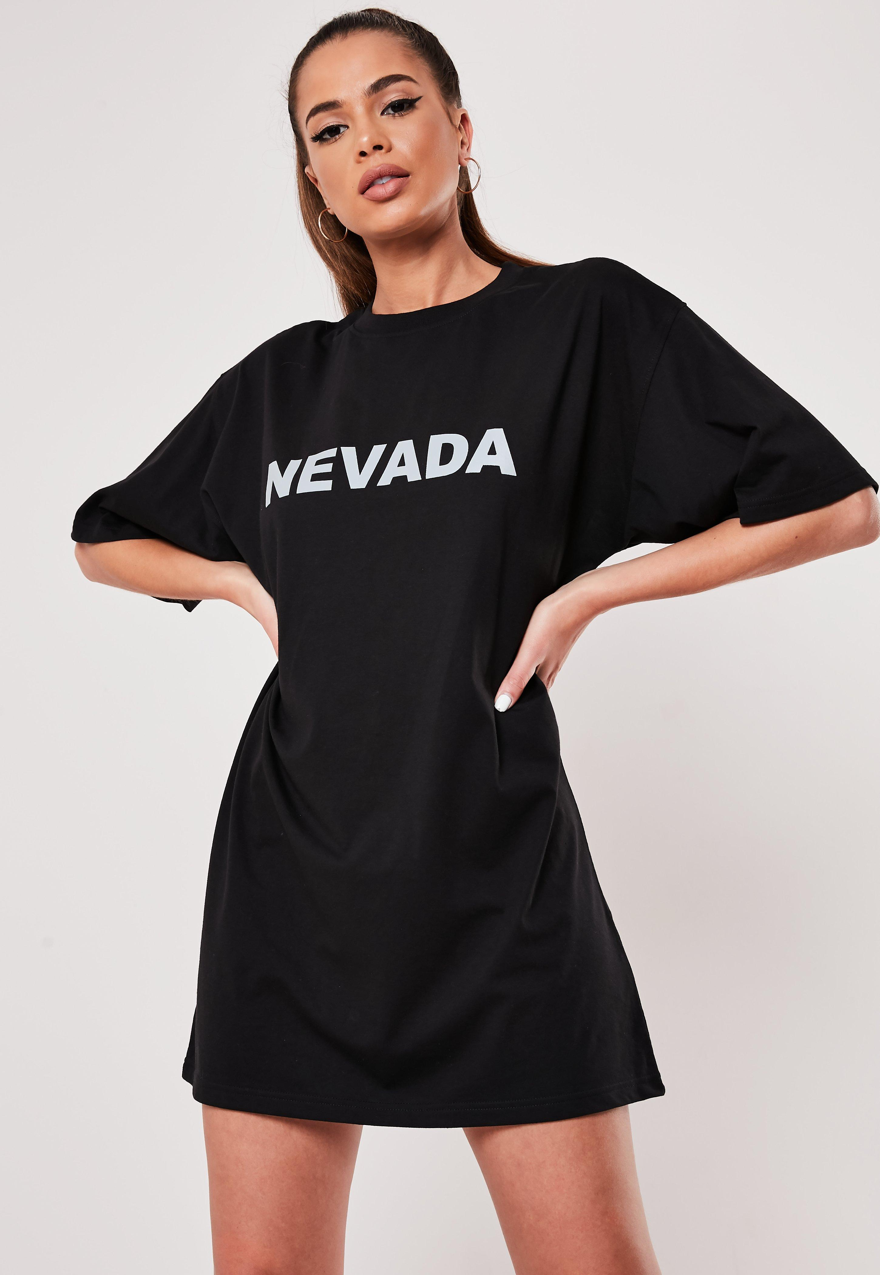 55069072e0c T-Shirt Dresses | Printed & Slogan Dresses - Missguided Australia