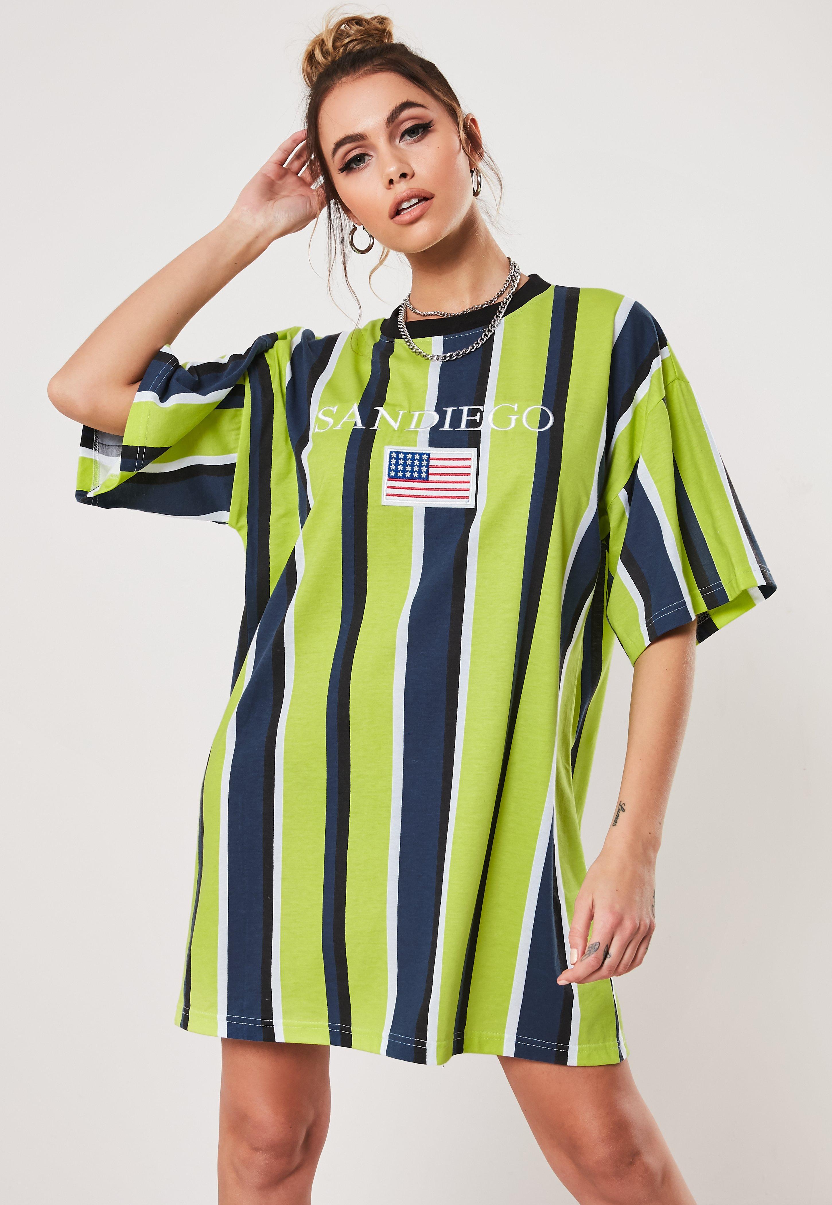 77eaf3cc51e7 T Shirt Dresses | Printed & Slogan T-Shirt Dresses - Missguided