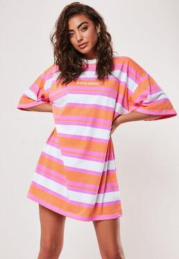 cf45cec31 T-Shirt Dresses   Printed & Slogan Dresses - Missguided Australia