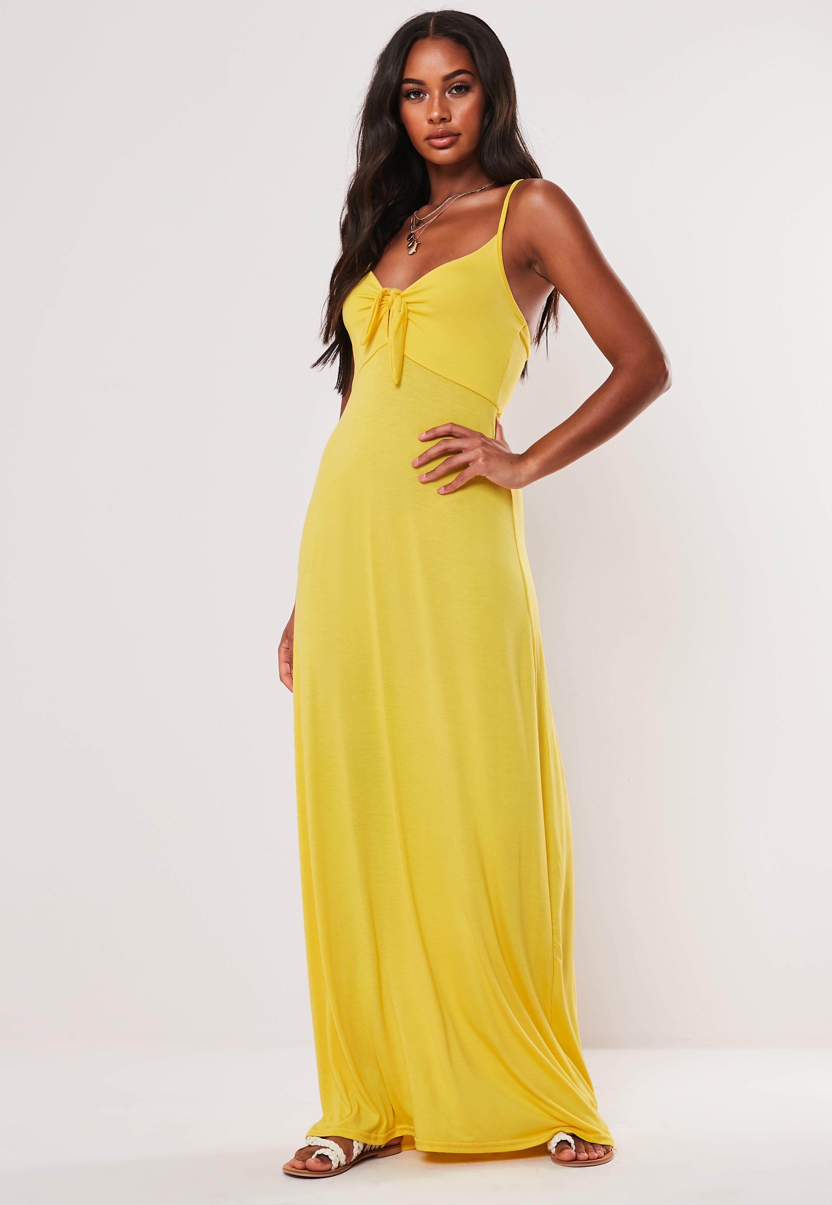 21d7e4ec Yellow Dresses | Mustard & Lemon Dresses - Missguided