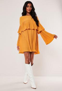f8e15479905bd Yellow Dresses | Mustard & Lemon Dresses - Missguided