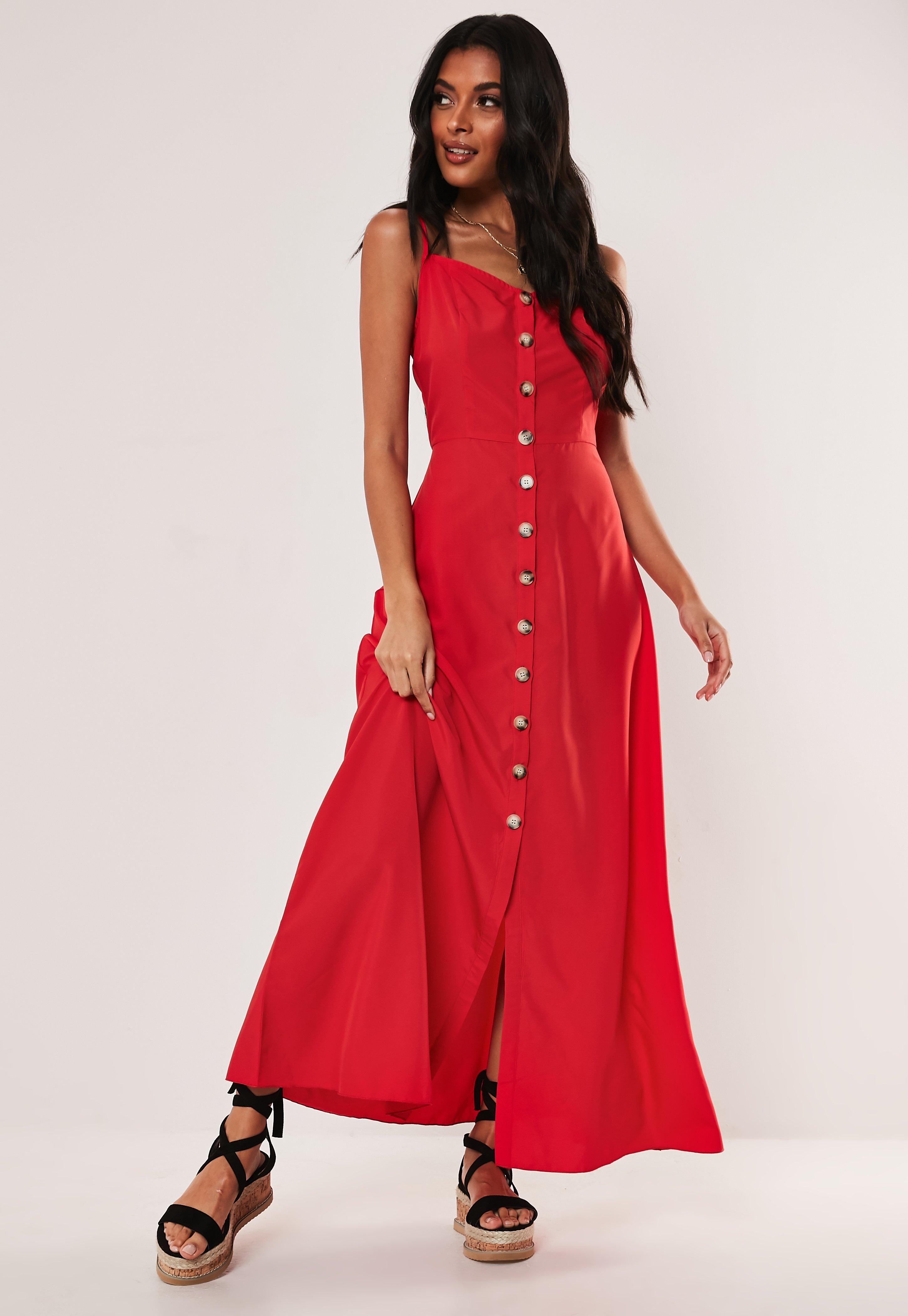 3d2dc33144b1 Red Dresses | Scarlett & Maroon Dresses | Missguided
