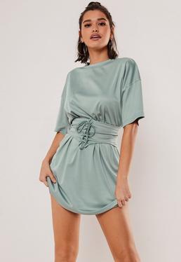 5f59f21b687c T-Shirt Dresses | Printed & Slogan Dresses - Missguided