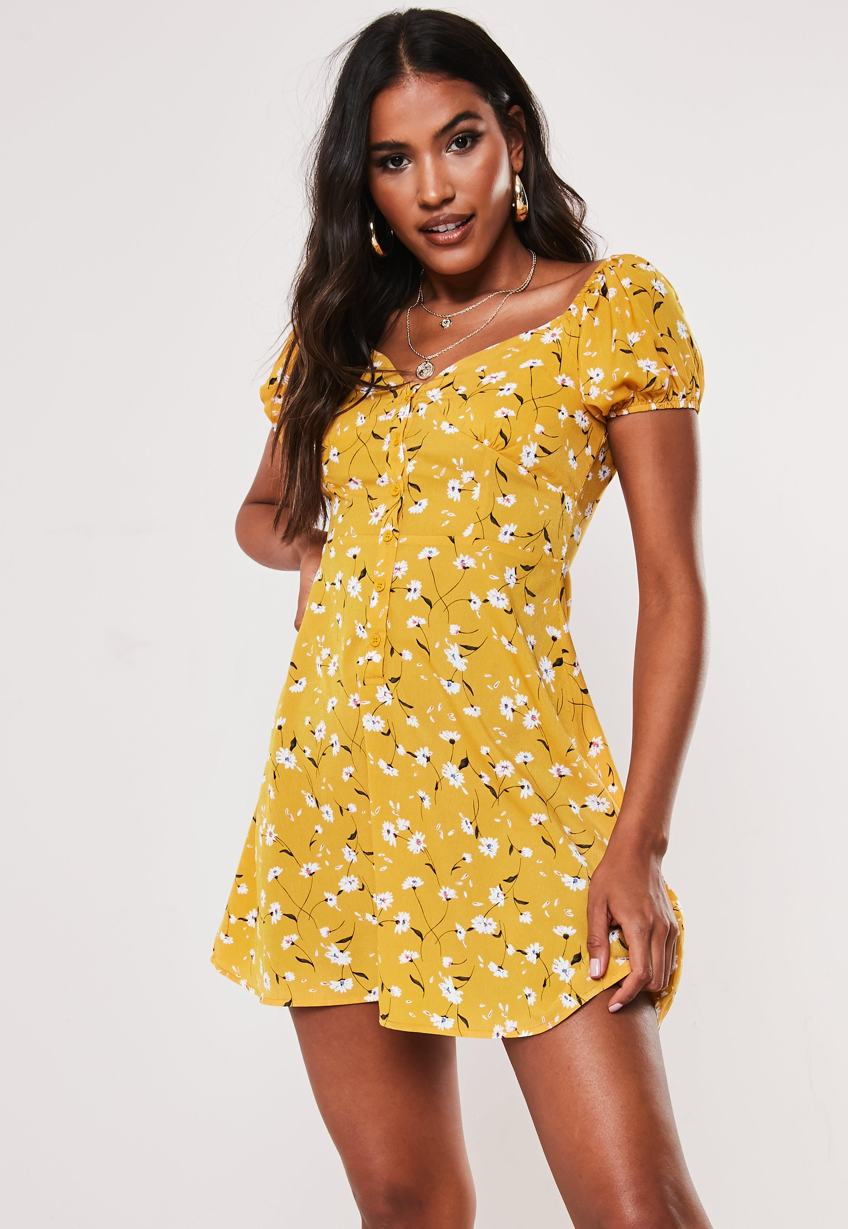 7bb6dcc6136d Floral Dresses | Flower Print Dresses - Missguided