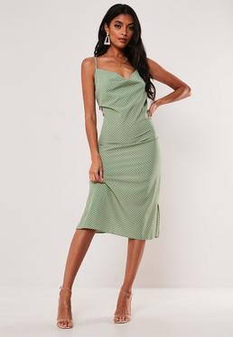 d4d43294a8db Slip Dresses | Shop Cami Dresses - Missguided