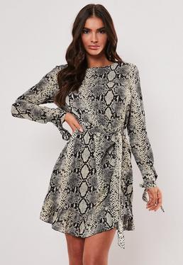 Snakeskin Clothes | Snakeskin Dresses & Skirts - Missguided