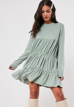 Smock Dresses Missguided