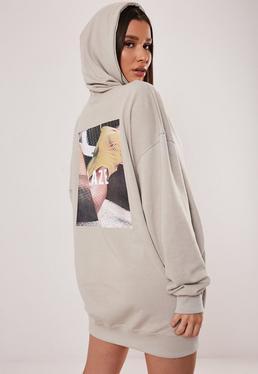 Sweater Dresses Shop Sweatshirt Dresses Missguided