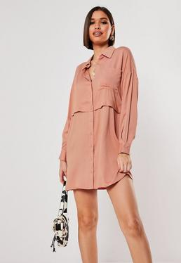 Платье-рубашка Rose Utility