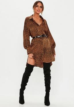563ee15e92 Animal Print Clothing | Snake & Leopard Print Dresses - Missguided