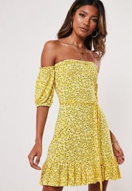8ae8b4fa8 Bardot Dresses | Off the Shoulder Dresses - Missguided
