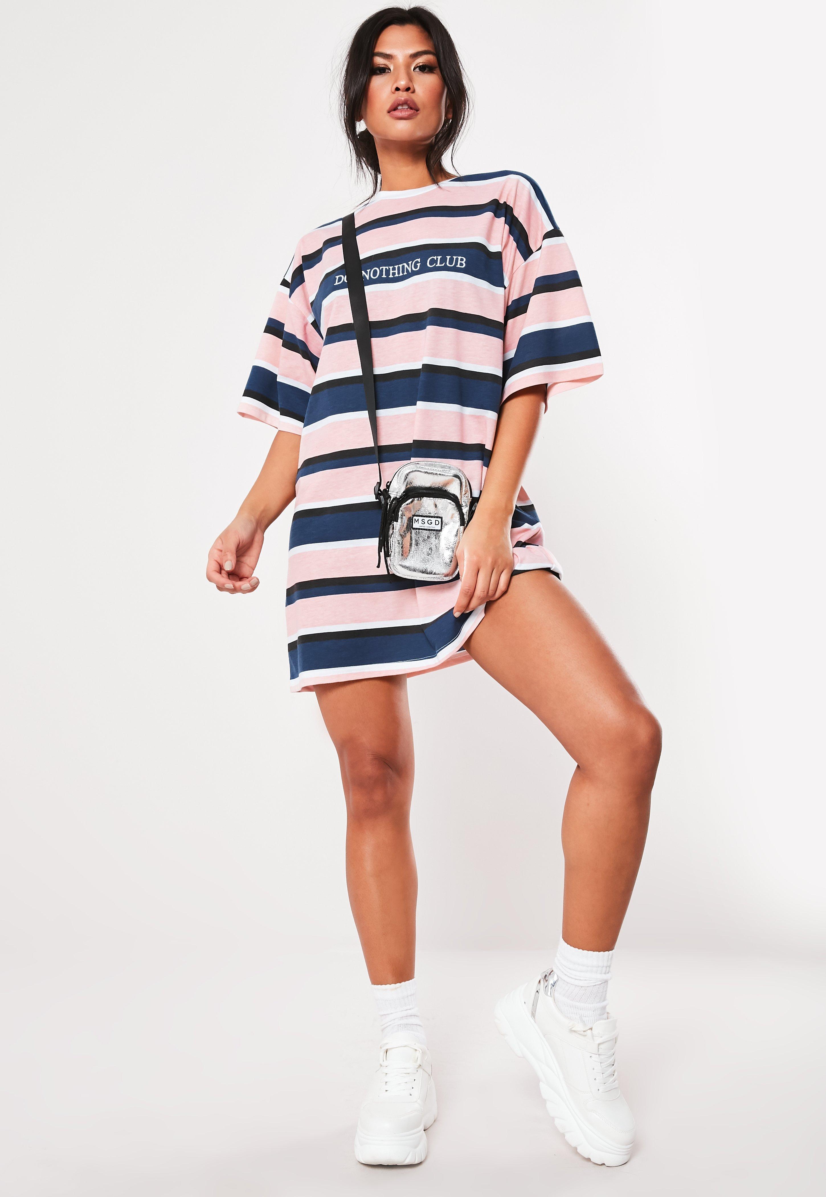 7bfc767b4fd86 T-Shirt Dresses | Printed & Slogan Dresses - Missguided