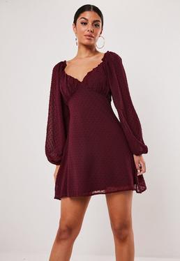 Vestido Con Vuelo Vestidos Con Vuelo Online Missguided