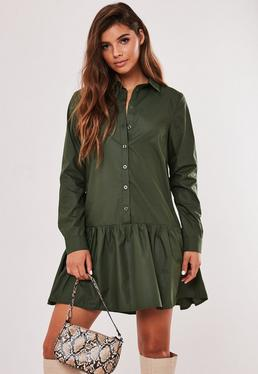 Shirt Dresses Long Amp Short Sleeve Shirt Dresses Missguided