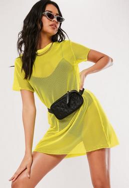 Neon Outfits Neon Kleider Und Oberteile Missguided