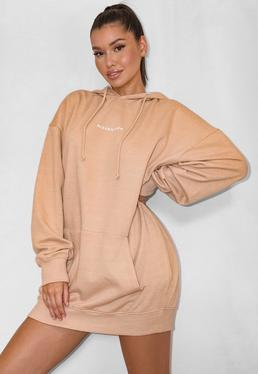 Sweater Dresses | Shop Sweatshirt Dresses | Missguided